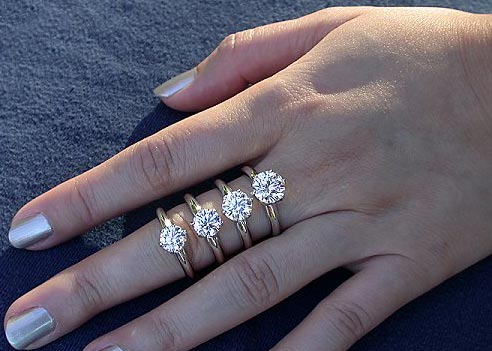 recipe: .25 carat diamond ring on finger [20]